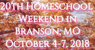 Homeschool Weekend in Branson ~ October