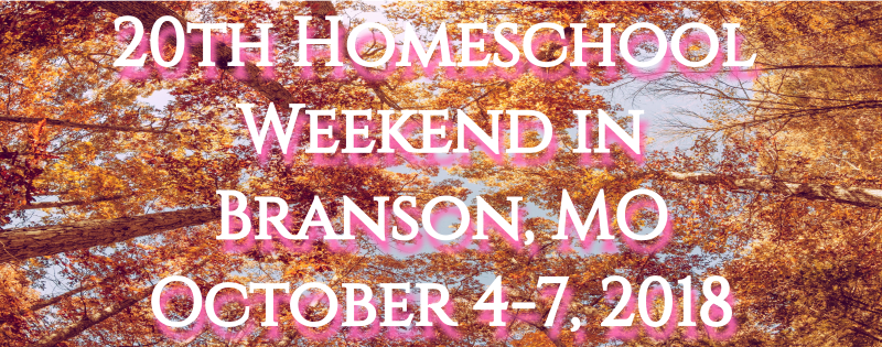 Homeschool Weekend in Branson ~ October