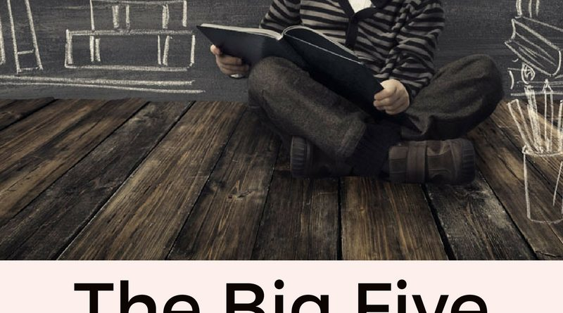 The Big Five ~ by Jane Volden